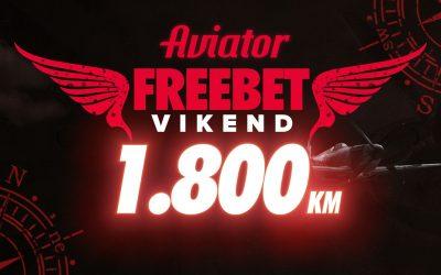 Aviator – FREEBET vikend