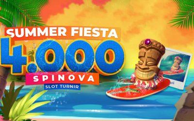 Summer Fiesta – 4000 spinova